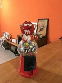 🚚 「早期MM巧克力糖果機」不含糖果+送好禮8選一 早期 古董 復古 懷舊 稀少 有緣 大同寶寶 黑松 沙士