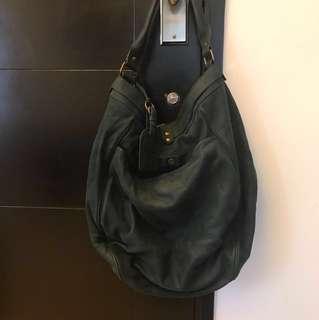 Vanessa Bruno Hobo Bag - Leather Suede Large