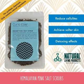 Coffee Pink Salt Scrub Infused With Essential Oils