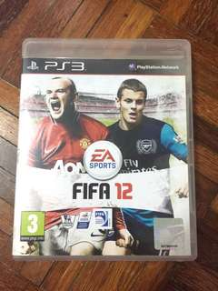 Ps3 Game: FIFA 12