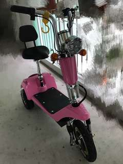 3 wheel e-scooter