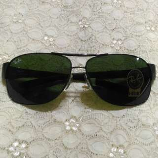 Ray-Ban RB 3404 Gunmetal Sunglasses