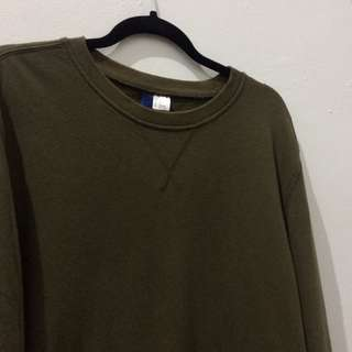 H&M Divided Crewneck Green