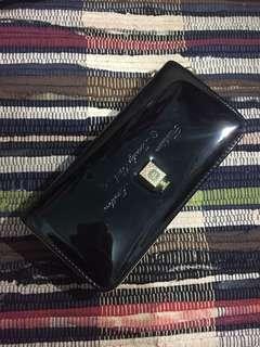 Long Black Wallet