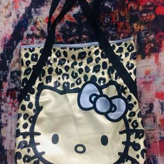 Gold Hello Kitty Bag
