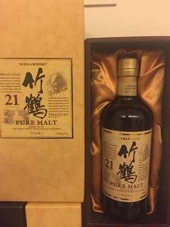 竹鶴21年 Taketsuru 21 700ml YO 禮盒裝 gift box