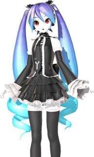 Hatsune Miku Anti the Holic Cosplay