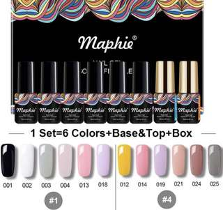 [ALL NEW] Gel Nail Polish set