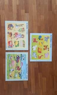 Puzzles 3 pieces