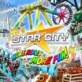 Star City Tickets for sale!!