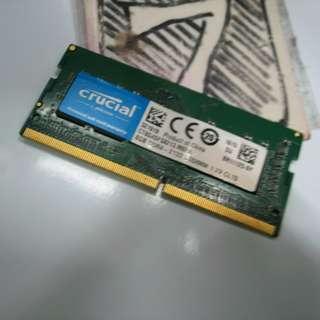 8GB DDR4 Notebook Laptop RAM $100