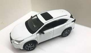 Lexus NX200t 1:18 model