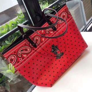 Coach Mickey Mouse Reversible