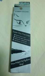 Black eyeliner cyber colours