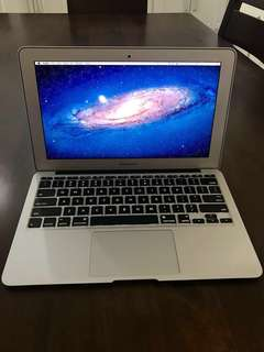 Macbook Air 11-inch Mid 2011 128gb