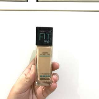 Maybelline Fit Me Foundation (MATTE & PORELESS)