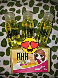 """We say """"AHA"""" when we discover something new and something good!  Dito sa Cosmetic buffet lagi kang mapapa-AHA sa galing at husay ayon yan sa aming customers..."""