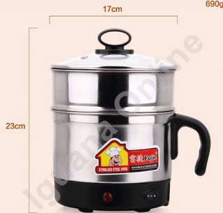 1.8L stainless steel double layer electric cooker