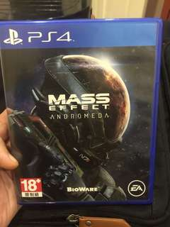 PS4 Game - Mass Effect (Andromeda)