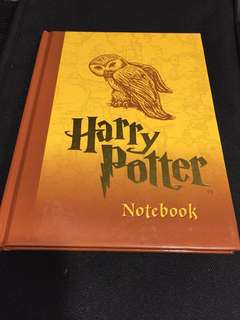 BRAND NEW AND NEVER USED! Harry Potter Notebook