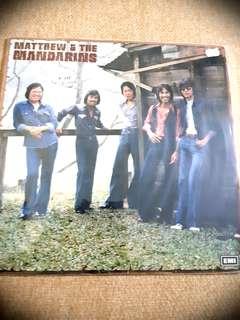 Vinyl Record Matthew & the Mandarins