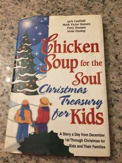 Chicken soup for soul- kids treasury Christmas