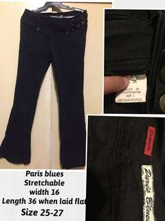 Paris blues Black Pants (stretchy,very nice in actual) from u.s