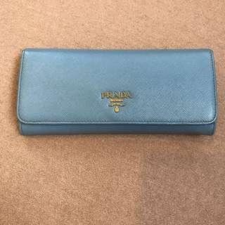 Prada Saffiano Genuine Leather Wallet