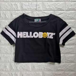 Helloboyz Crop Top