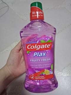 Colgate Plax Alcohol Free Mouthwash ( 1L )