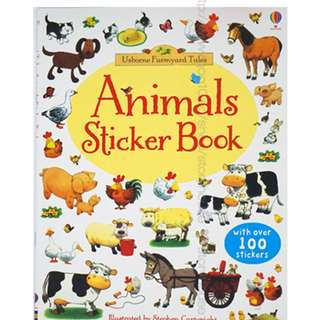 Usborne First Sticker Book - Animals ( All Paperback Books and Brand New )