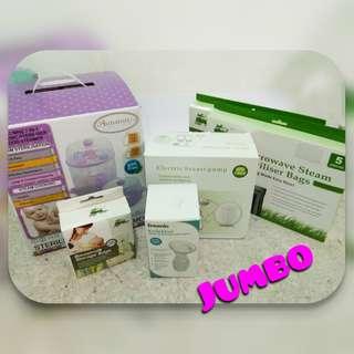 Steriliser, Breastpump and Storage Bag