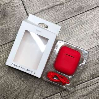 silicon airpods case last pair