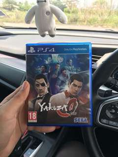 Ps4 games : YAKUZA 0