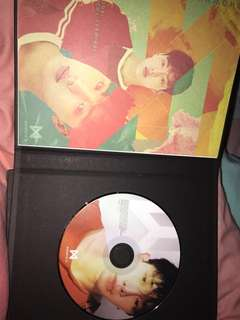 MONSTA X THE CODE SHOWNU BOOKLET AND WONHO CD
