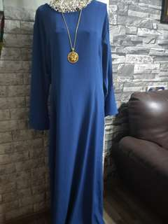 Brand New Long Dress Bell Sleeve