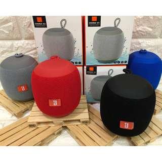 Round Fabric Bluetooth Speaker