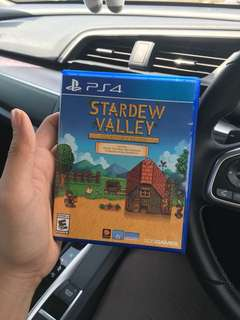Ps4 games : STARDEW VALLEY