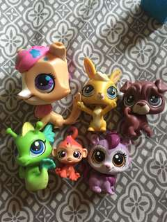 Lps toys characters
