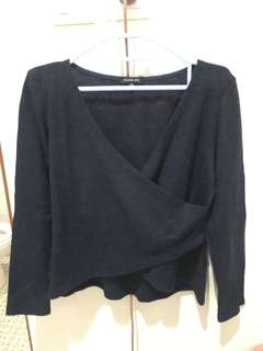 Navy Blue Knit