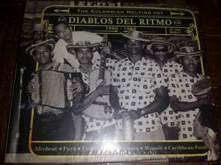 Music CD (Sealed, 2xCD): Various–Diablos Del Ritmo: The Colombian Melting Pot 1960 - 1985