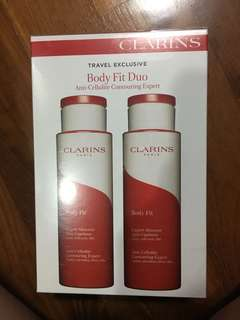Clarins Body Fit (Duo) -Travel Exclusive