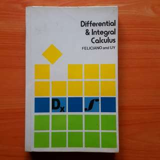 Feliciano and Uy - Differential and Integral Calculus