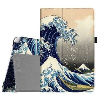 Fintie Folio Case For Samsung Galaxy Tab A 10.1 with S Pen - Rough Sea/The Great Wave