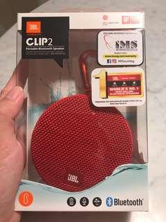 JBL Clip 2 portable Bluetooth speaker BNIB