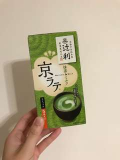 (購於日本)辻利抹茶 Matcha and milk