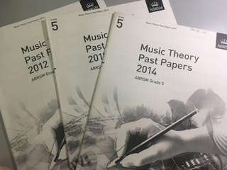 ABRSM Grade 5 Music Theory Past Papers 2012/13/14