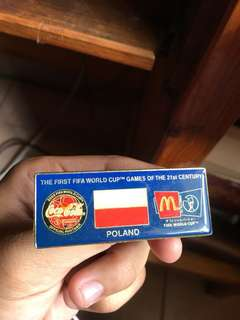 Poland 1999 fifa world cup pin