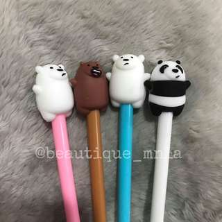 12 pcs. We bare bears pens 💖