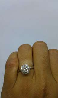 2carats diamond ring